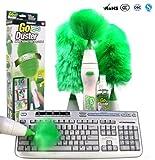 Romote Staubwedel drehbar Elektrische Multifunktionale geregelt Reinigungsbürste motorisiert Staubwedel grünen Feder-für die Tastatur von Möbeln von Lampenschirm