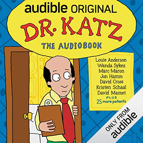 Page de couverture de Dr. Katz: The Audio Files