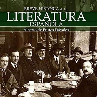 Breve historia de la Literatura española [A Brief History of Spanish Literature] Titelbild