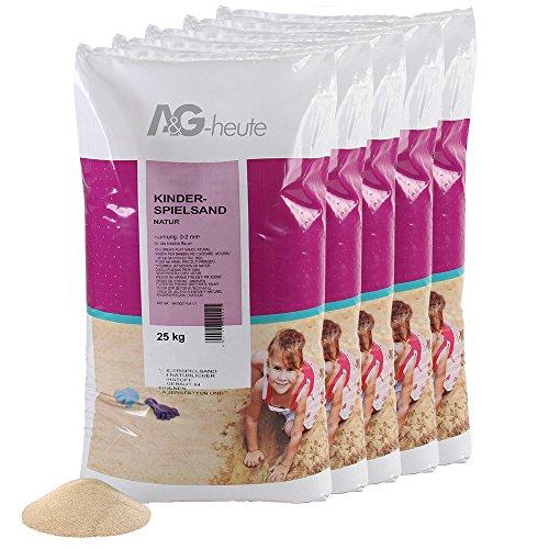 A&G-vandaag 125kg speelzand kwartszand voor zandbak decoratief zand TÜV Nord getest topkwaliteit
