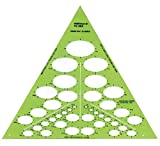 Alvin, TD868, Isometric Ellipse Template - 39 Ellipses