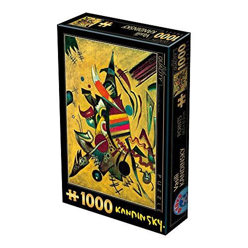 Puzle de 1000 Piezas, diseño de Puntos, Kandinsky Vassily