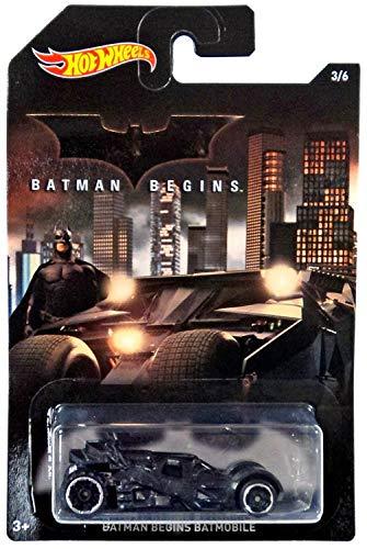 バットマン ホットウィール 1/64スケールベーシック 2015 ウォルマート限定 ダイキャストカー#3 ビギンズ バットモービル タンブラー / HOT WHEELS BATMAN BEGINS BATMOBILE【並行輸入品】