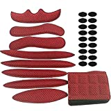 HEROPIE Helmet Padding Kit, 27Pcs Bicycle Replacement Universal Foam Pads Set for Bike Motorcycle Cycling Helmet