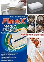 FineX 100 X 60 X 30 mm Melamine Stain Remover Magic Eraser (Multicolour) - Pack of 4