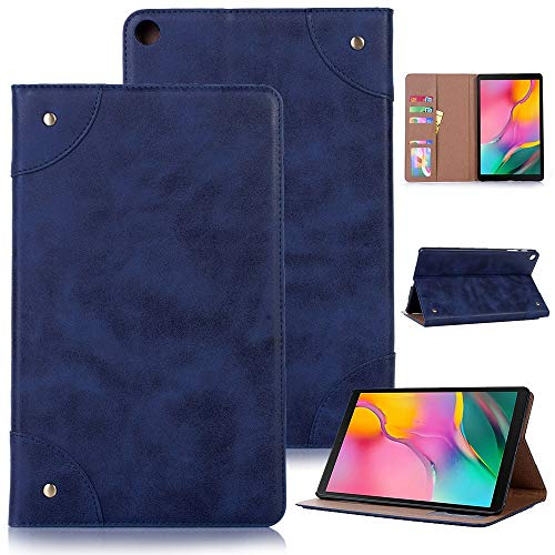 HHF Pad Accesorios para Samsung Galaxy Tab A 10.1 2019 T510 / T515, Flip Fold Book Soporte Protector de protección PU de la PU con la Funda de Cuero solT de la Tarjeta para Samsung Galaxy Tab A 10.1