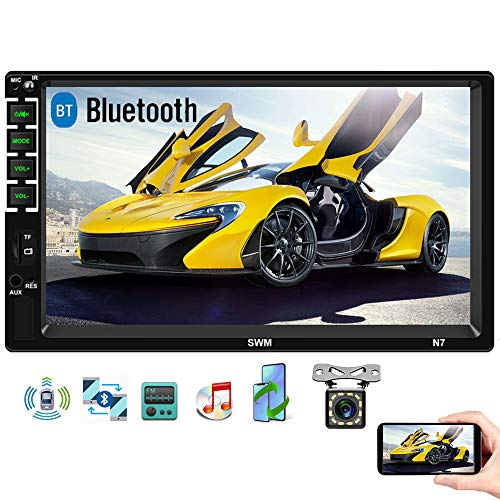 Camecho Double Din Car Stereo with …