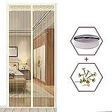 Sommer hochwertige Anti-Mücken-Vorhänge Magnetvorhänge schließen automatisch die Türscheibe Küche Schlafzimmer Vorhang fünf Größen V4 B 100 x H 210 cm