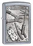 Zippo Lighter: Electrician Tools - Street Chrome 80766