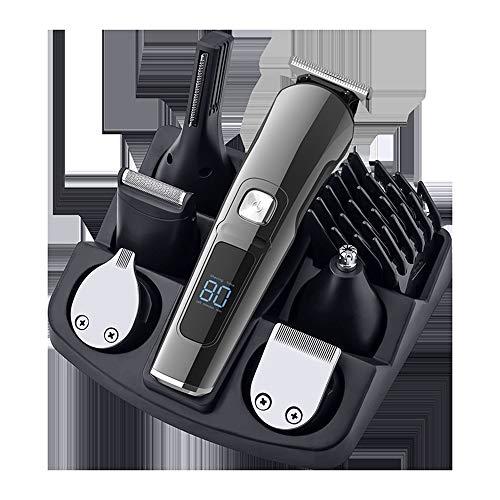 YYF Haarspange Ganzkörperwaschung LCD-Digitalanzeige Haarschneider Set intelligente Steuerung zu Hause Haarschnitt Elektro Klipper