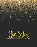 Hair Salon Appointment Book: Daily Monthly Calendar Planner Organizer With 2020-2021 Calendar Dated Weekly With 15 Minute Time Increments for Stylist ... Client...