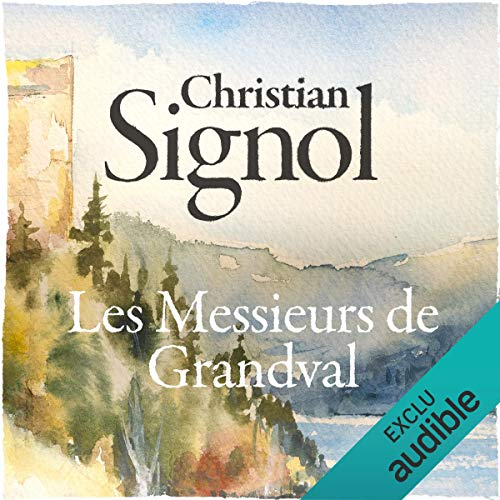 Les messieurs de Grandval audiobook cover art