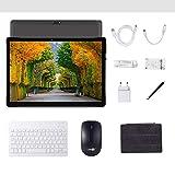 Android 7.0 3G-Tablet, 4 GB + 64 GB, Android-Tablet mit 10,0-Zoll-HD-IPS-Bildschirm, 2 SIM-Kartensteckplätzen, Quad-Core, 1,3 GHz, Bluetooth, WLAN, GPS, Dual-Kamera