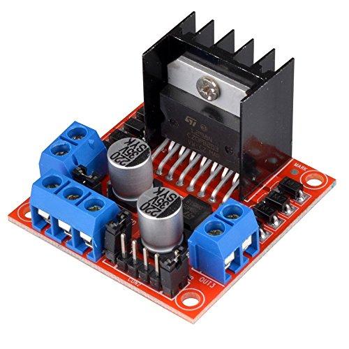 DollaTek Mini Stepper Motor Drive Controller Board-Modul L298N verdoppeln H-Brücke DC-Stepper für Arduino Smart-Auto-Roboter