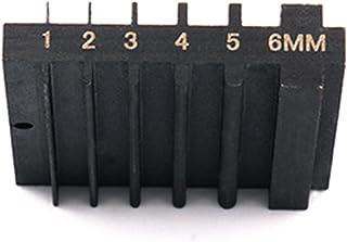 WHHHuan Outil de réparation Double latéral en Acier 1pc pour affûtage Couteau à Couteau Large Cuir Cuir Cuir Dintrant Edge...
