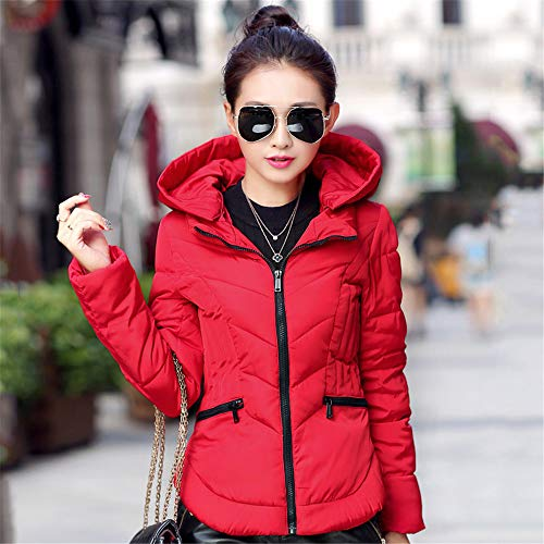 Waniii Solid Slim Winter Jacket Women
