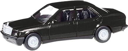 Herpa 012409 – 005 Minikit: Vehículo Mercedes Benz 190 E en Miniatura, Color Negro