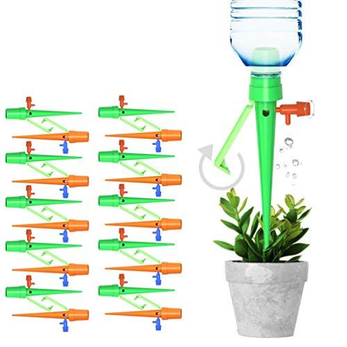 FYTENG 20PCS Kit Irrigazione A Goccia,Dispositivo di Irrigazione A Goccia Scientificamente Regolabile, Adatto per Piante, Fiori, Bonsai, Irrigazione Domestica