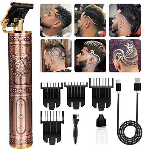 Zero Blade Hair Trimmer Bald Eagle Design Cordless Pro Li T Blade Trimmer Outlining Hair Trimmers product image