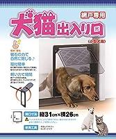 ペットドア(網戸専用)犬用・猫用Mサイズ