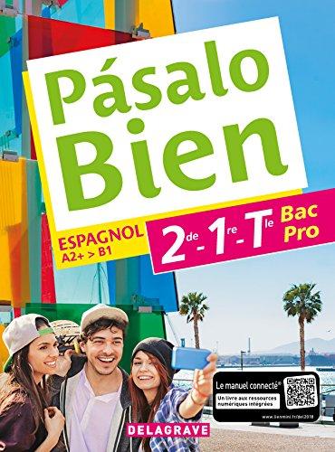 Espagnol 2de, 1re, Tle Bac Pro