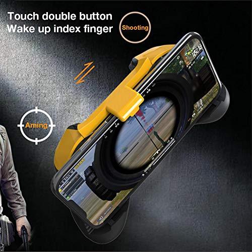 S-tubit Gamepad Bluetooth Cooling para Phone Game Peace Elite, actualización de Bluetooth Gamepad Cooling Support Android/iOS Teléfono móvil para Game Peace Elite/PUBG wondeful Astonishing