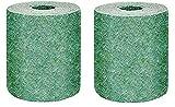 2 piezas Rollo de alfombra de semillas de hierba, Alfombra de cultivo de hierba...