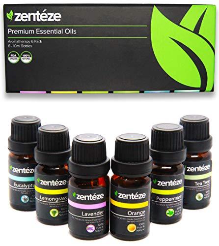 Premium Grade Aromatherapy Essential Oils Set