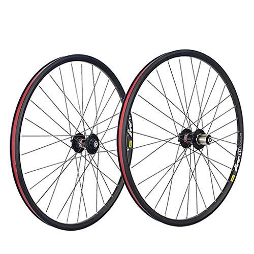 LSRRYD Juego Ruedas Bicicleta Montaña 26 27.5 29 Pulgadas 559x20 Llantas Doble...