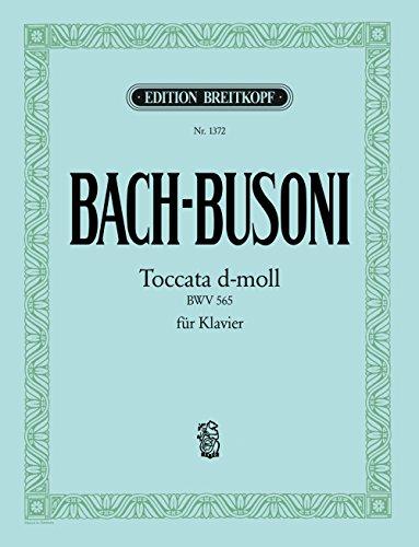 Toccata d-moll BWV 565 für Laute - Bearbeitung für Klavier (EB 1372)