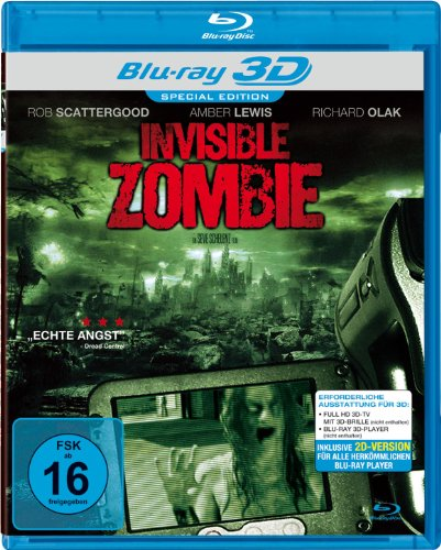 Invisible Zombie (Real 3D Blu-ray) [Special Edition]