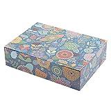 Creibo CBOX006 - Caja Cartón Grande decorada