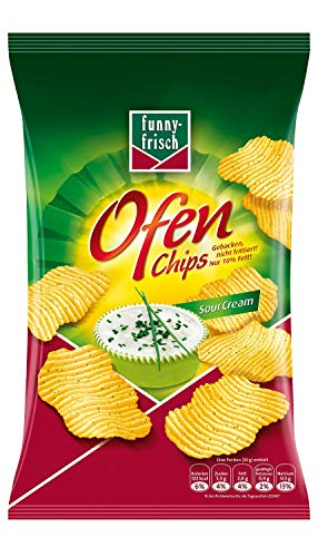 funny-frisch Ofen Chips Sour Cream 10er Pack (10 x 150 g)