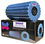 Quake 5 Speed Vibrating Foam Roller – Deep Tissue Massager, Trigger Point, Sports Therapy and Muscle Recovery