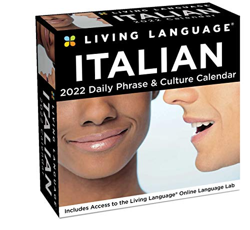 foreign language calendars Living Language: Italian 2022 Day-to-Day Calendar