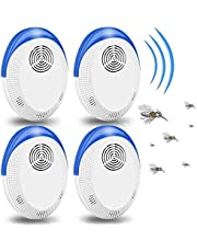 Innoo Tech Mosquito Repellent, Electronic Ultrasonic Pest Repeller Plug in for Insects, Indoor Pest Control for Living Room, Garage, Office, Hotel (4 Pack)