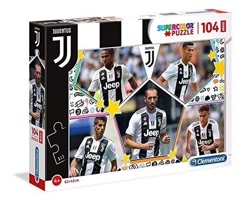 Clementoni - 23726 - Supercolor Puzzle - Juventus - 104 Maxi Pezzi