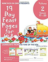 19 Day Feast Pages for Kids Volume 2 / Book 5: Early Bahá'í History - Lionhearts from the Time of the Báb (Issues 17 - 20)