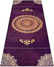 Heathyoga Non Slip Hot Yoga Towel, 100% Microfiber Non Slip Yoga Mat Towel for Hot Yoga, Pilates and Fitness, Exclusive Corner Pockets Design + Free Spray Bottle