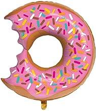Repair Media de Shop ★ RM ★ XXL Globo abgebissener Donut Party Decoración Divertido Gadget Helium Gas Aluminio Globo de Aire ★ RM ★