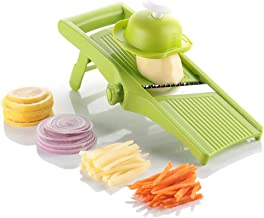 Ourokhome Vegetable Mandoline Potato Slicer - Fry Cutter for Onion Rings, Chips and French Fries