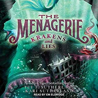 Krakens and Lies audiobook cover art