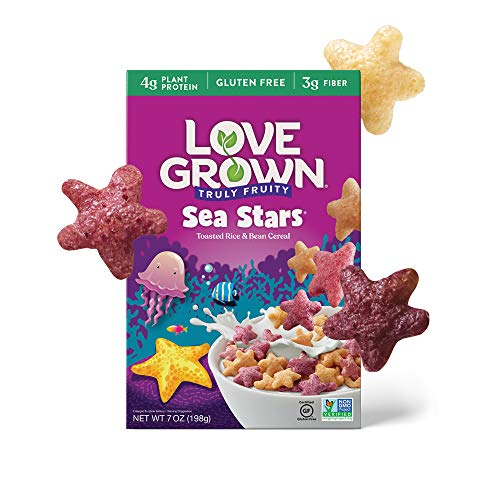 Love Grown Sea Stars Cereal, Fruity 42 Ounce (Pack of 6)
