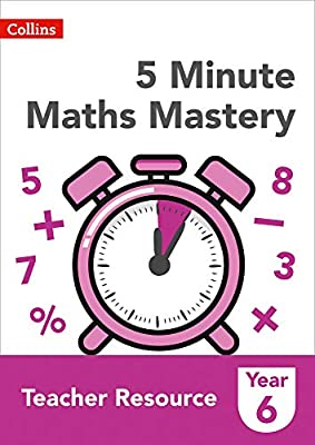 Collins KS2 Revision and Practice ? 5 Minute Maths Mastery Book 6 from Collins