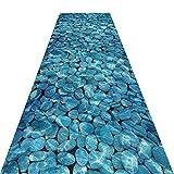 GHHZZQ Waschbar Läufer Teppich Flur Teppichläufer Dauerhaft Vermischt Wohnzimmer Schlafzimmer Treppe, 0,6 cm Dick (Color : A, Size : 0.8x2m)