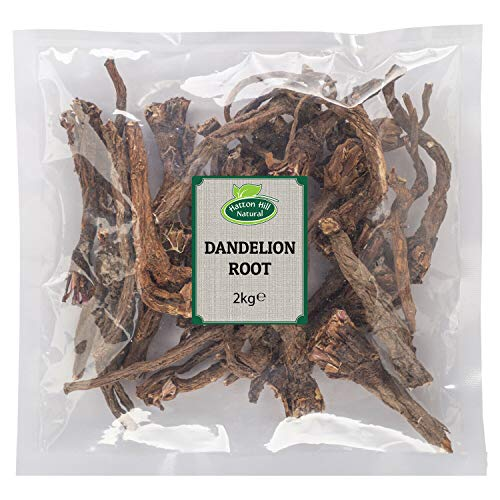 Dried Whole Dandelion Root 2kg by Hatton Hill - Free UK Delivery