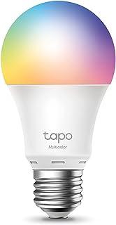 TP-Link tapo l530e slimme WiFi-Ledlamp e27, meerkleurig, 8,7 w, geen hub nodig, compatibel met Alexa, Google assistant, af...