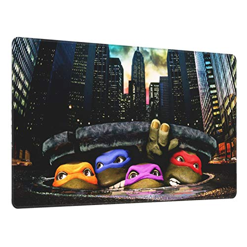 Mouse Pad Nin.Ja Turtles Large Gaming Mousepad Extended Desk Mat Ultra Thick Mousepad for Office Gamer Home 29.5'X15.8'