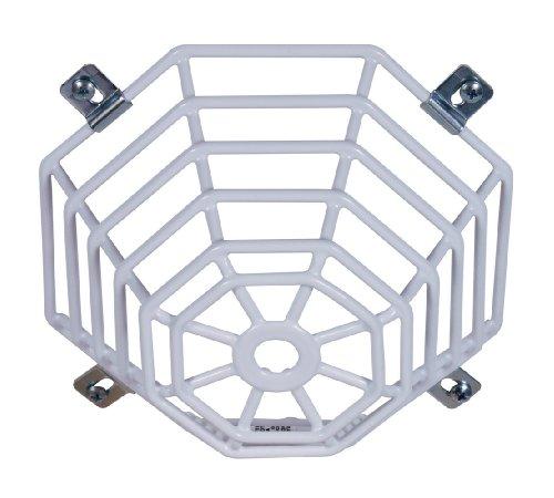 Safety Technology International, Inc. STI-9604 - Tapón de Acero para Mini detectores de Humo, Montaje Empotrado, Protector de Alambre de Acero Recubierto de protección