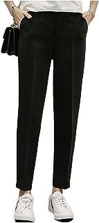 [フェイミー] ジョガー スリム パンツ 9分丈 なめらか生地 動きやすい ポケット付き S ~ 2XL レディース